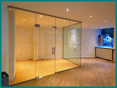 Ganzglasanlagen der Glaserei Hannover