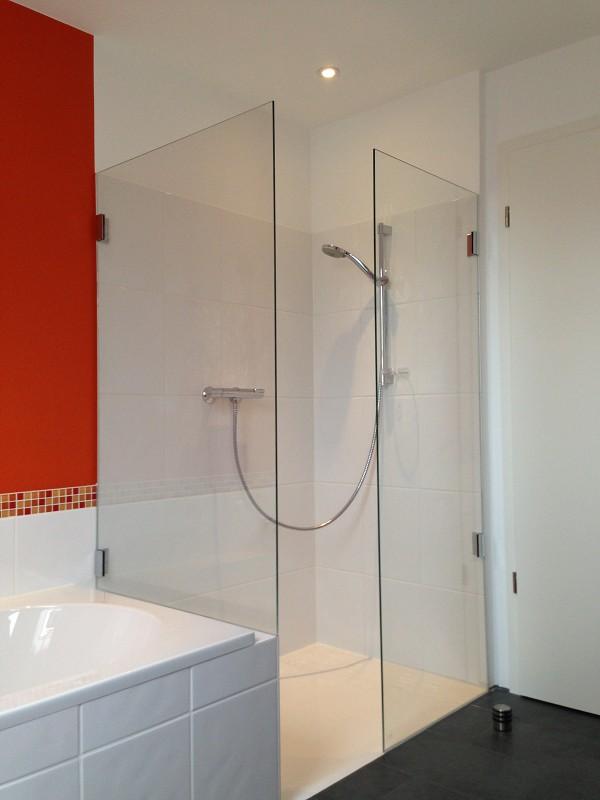 Duschtrennwand aus Glas der Glaserei Nolting Hannover