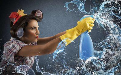 Wie reinigt man eine Glasdusche?